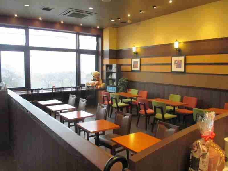 店舗内装 コーヒーショップ 内装工事 静岡県 富士川